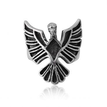 Sterling Silver Fantastic Eagle Ring