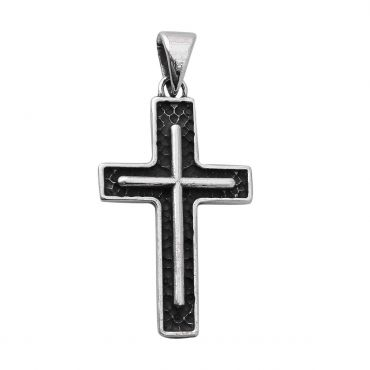 Sterling Silver Alluring Cross Pendent