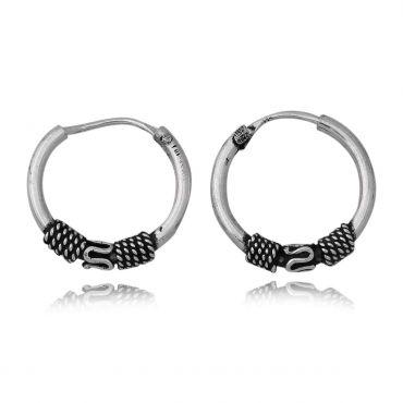 Sterling Silver Small Hoop Earring
